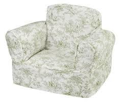 green chair slipcover minty green toile children s chair slipcover