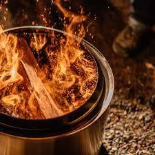 the world u0027s most unique fire pit less smoke more fun