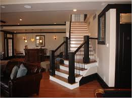 basement apartment stairs how to design lighting in a room