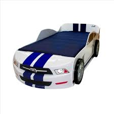 Blue Car Bed Car Twin Bed Delta Children Cars Lightning Mcqueen Bed With