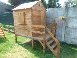 Playhouses For Backyard by Pallet Wood Train Engine Playhouse