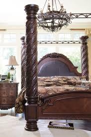 north shore canopy bedroom set u2013 bedroom at real estate