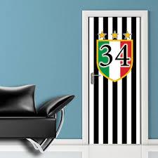 Stickers Porte Interne by Juventus 34 Adesivi Per Porte