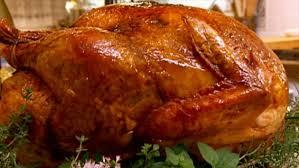 fig glazed roast turkey with cornbread recipe