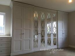 Modern Fitted Bedrooms - gloss acrylic closet door enchanting modern fitted wardrobes three