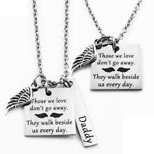 stainless steel name necklace images Engraved jewelry necklaces those we love angel wing jpg