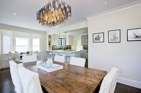 Gold Capiz Chandelier Gray Capiz Chandelier Contemporary Dining Room Amoroso Design