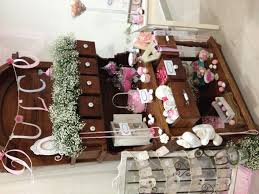 Pink And White Candy Buffet by Wedding Candy Table In Pink And White No A Vintage Table Fill