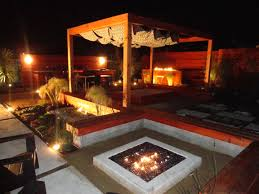 backyard water features with fire home outdoor decoration
