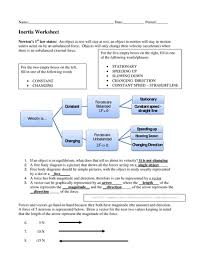 inertia homework worksheet solutions betterlesson