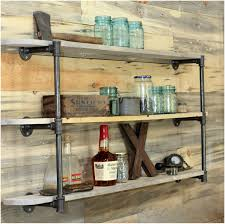easy wood shelf projects diy floating wood shelves bathroom