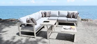 Outdoor Patio Furniture Vancouver Cast Aluminum Patio Furniture Outdoor Sectional With A