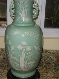 Celadon Vase 19th Century Celadon Vase