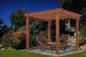 amazon com lakewood 6 5 u0027 x 6 5 u0027 composite pergola garden u0026 outdoor