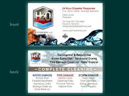 Appliance Business Cards H20 Business Card Zodiac Enterprises