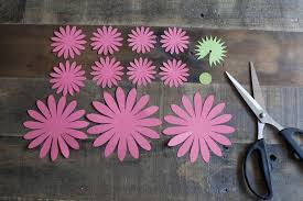make your own paper gerbera daisies how to make a paper flower