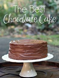 the best chocolate cake recipe all in all