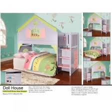 Doll House Bunk Bed House Loft Bed With Stairs