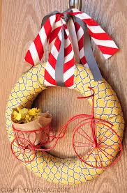 Diy Wreaths Diy Summer Bicycle Wreath