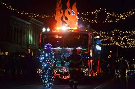 Fire Trucks Decorated For Christmas Winners Announced For 2015 Parade Of Lights Orleans Hub
