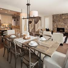 modern dining room table rustic kitchen lighting amazing modern rustic dining table