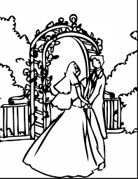 superb wedding dresses coloring pages wedding coloring pages