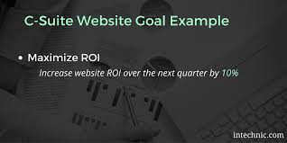 best examples of website goals and objectives