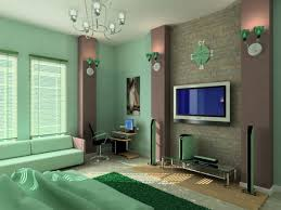 bedroom livingroom furniture interior green paint colors cool