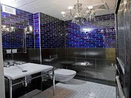 Blue Bathroom Ideas Small Bathroom Chandelier Cobalt Blue Tile Bathroom Ideas Royal