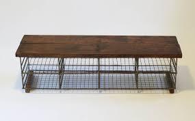 industrial storage bench vintage industrial storage bench bring it on home