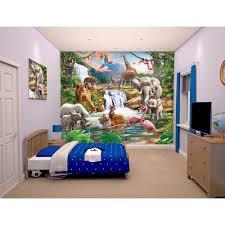 walltastic jungle adventure wallpaper mural toys r us