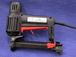 Electric Staple Gun For Upholstery Semi Professional Electric Staple Gun Modhomeec