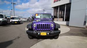 xtreme purple jeep 2017 jeep wrangler sport xtreme purple hl605173 mt vernon