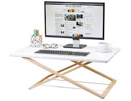 Desk Risers Uk Freedesk The World U0027s Most Available Standing Desk