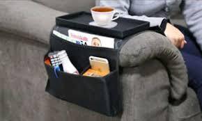 plateau de canapé canapé chaise repose bras organisateur télécommande plateau de