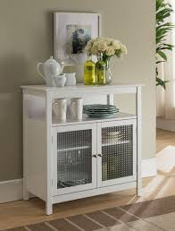 gremlin wheeled kitchen storage sideboard buffet cabinet white wood white and wood kitchen buffet page 1 line 17qq