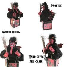 Krampus Halloween Costume Krampus Jack Box Red Black Halloween Pagan