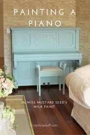 painting a piano with paint lessons learned
