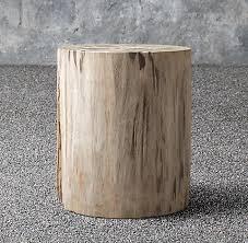 Concrete Side Table Coffee U0026 Side Tables Rh