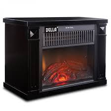 della 1200 watt hearth portable electric fireplace onebigoutlet com