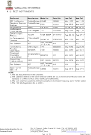 bureau verita gc88752 14 r c drone test report fcc15 249 report guangdong syma