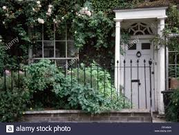 Garden Wall Railings by Wrought Iron Railings On Front Garden Of Townhouse With A White