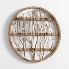 circular wood wall pretentious design ideas circular wall decor with gold mesh