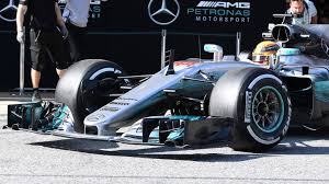 mercedes barcelona f1 testing lewis hamilton and mercedes fastest on day of