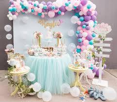 mermaid birthday party kara s party ideas pastel mermaid birthday party kara s party ideas