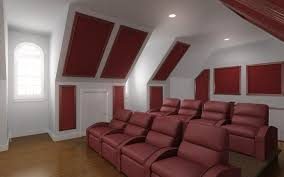 Noise Cancelling Ceiling Tiles by Behr Mouse Ears Small Movie Room Ideas Home Theater Acoustic