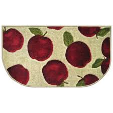 better homes and gardens apple kitchen rug walmart com