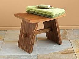 Bench For Bathroom by Shower Wood Bench U2013 Limette Co