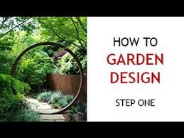 Designing A Backyard Step 1 How To Design A Backyard Garden Youtube