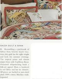 Pottery Barn Tropical Bedding Beach Palm Patchwork Quilt Sham Potterybarn This Would Go Nicely